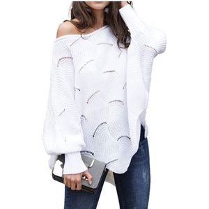Relipop Sweaters - Relipop Women's Pullover Batwing Sweaters